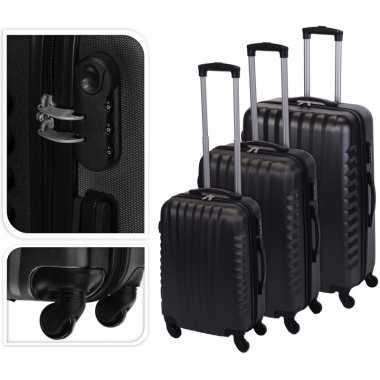 Vakantie grijze grote reiskoffer 72 cm