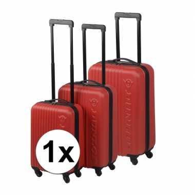 Vakantie rode reiskoffer 59 cm